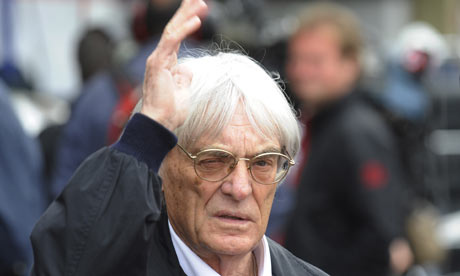 Bernie Ecclestone, CVC Capital Partners