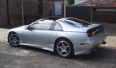 1992 Nissan 300 ZX turbo hatcback