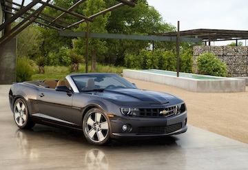 2011 Chevrolet Camaro convertible for Nieman Marcus