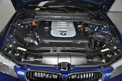 BMW 335d engine