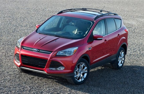 2013 Ford Escape, left side view