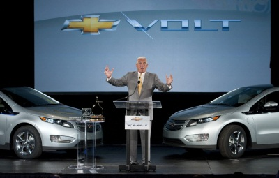 Volt celebration, Bob Lutz