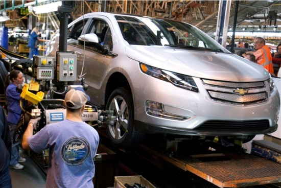 Volt production line