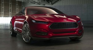Ford Evos concept could preview the 2015 Mustang