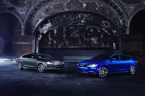 2015 Chrysler 200C and 2015 Chrysler 200S