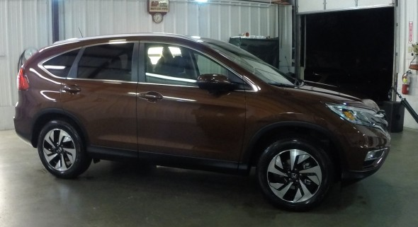The 2015 Honda CR-V, Touring trim