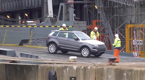 Hoegh Osaka Land Rover