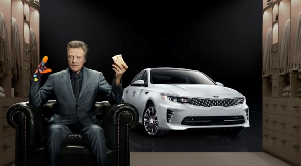 Christopher Walken for Kia